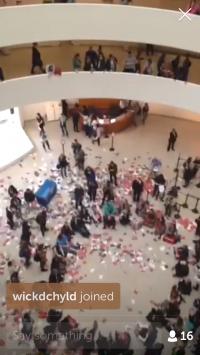 Guggenheim Protest